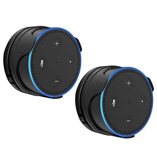 ProCase Echo Dot 第二世代 専用 壁掛けホルダー ハンガー スピーカースタンド ウォールマウント 取付き...