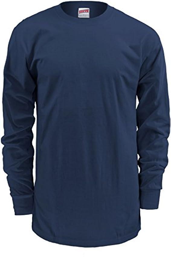 卒業アッティカス収穫[ソッフ] メンズ シャツ Soffe Men's Midweight Cotton Long Sleeve [並行輸入品]