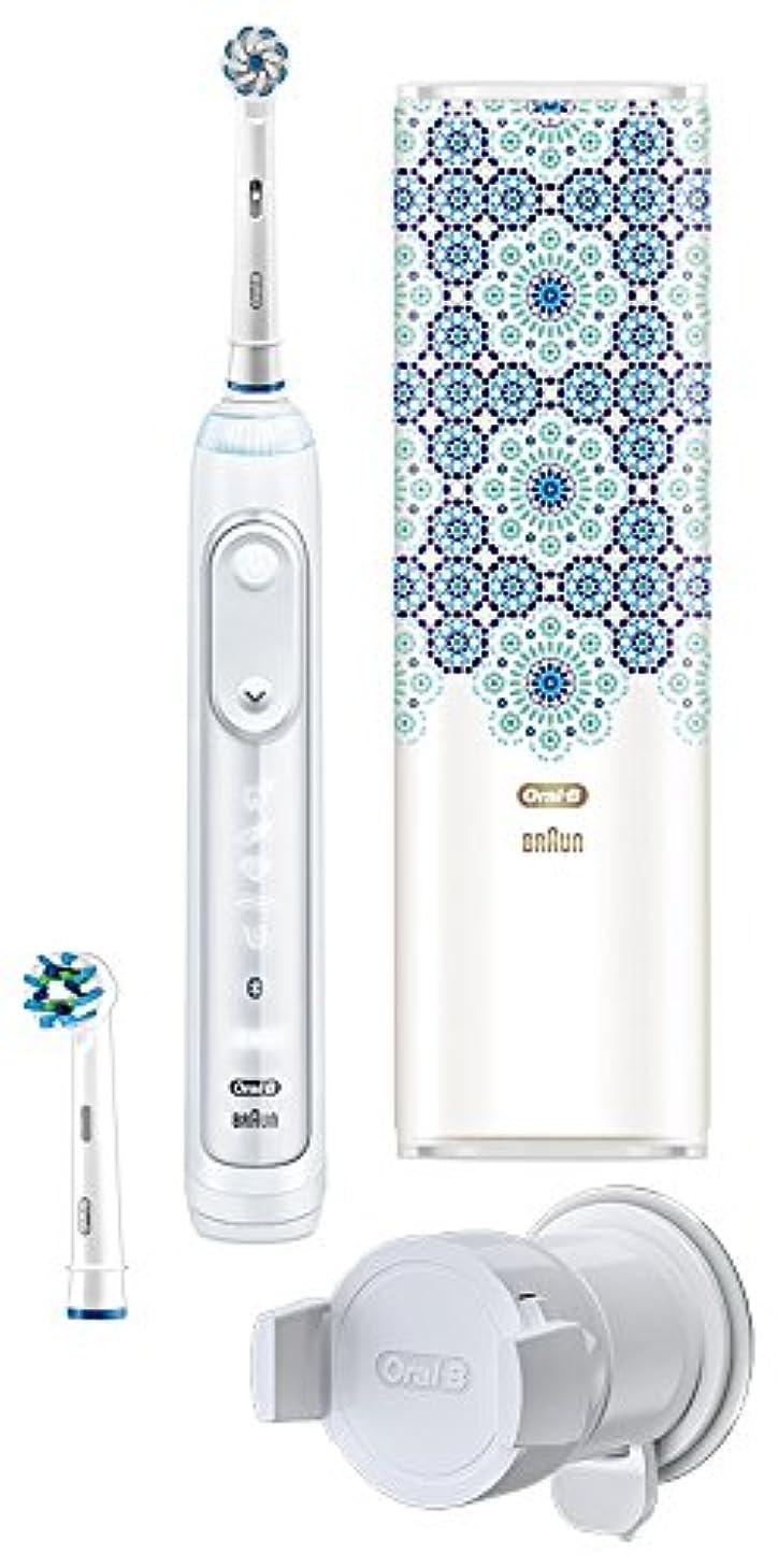 安いですコーンウォール磨かれたブラウン オーラルB 電動歯ブラシ ジーニアス9000 モロッコデザイン D7015256XCTMC