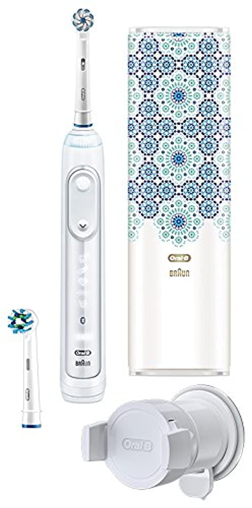 設計補う神のブラウン オーラルB 電動歯ブラシ ジーニアス9000 モロッコデザイン D7015256XCTMC