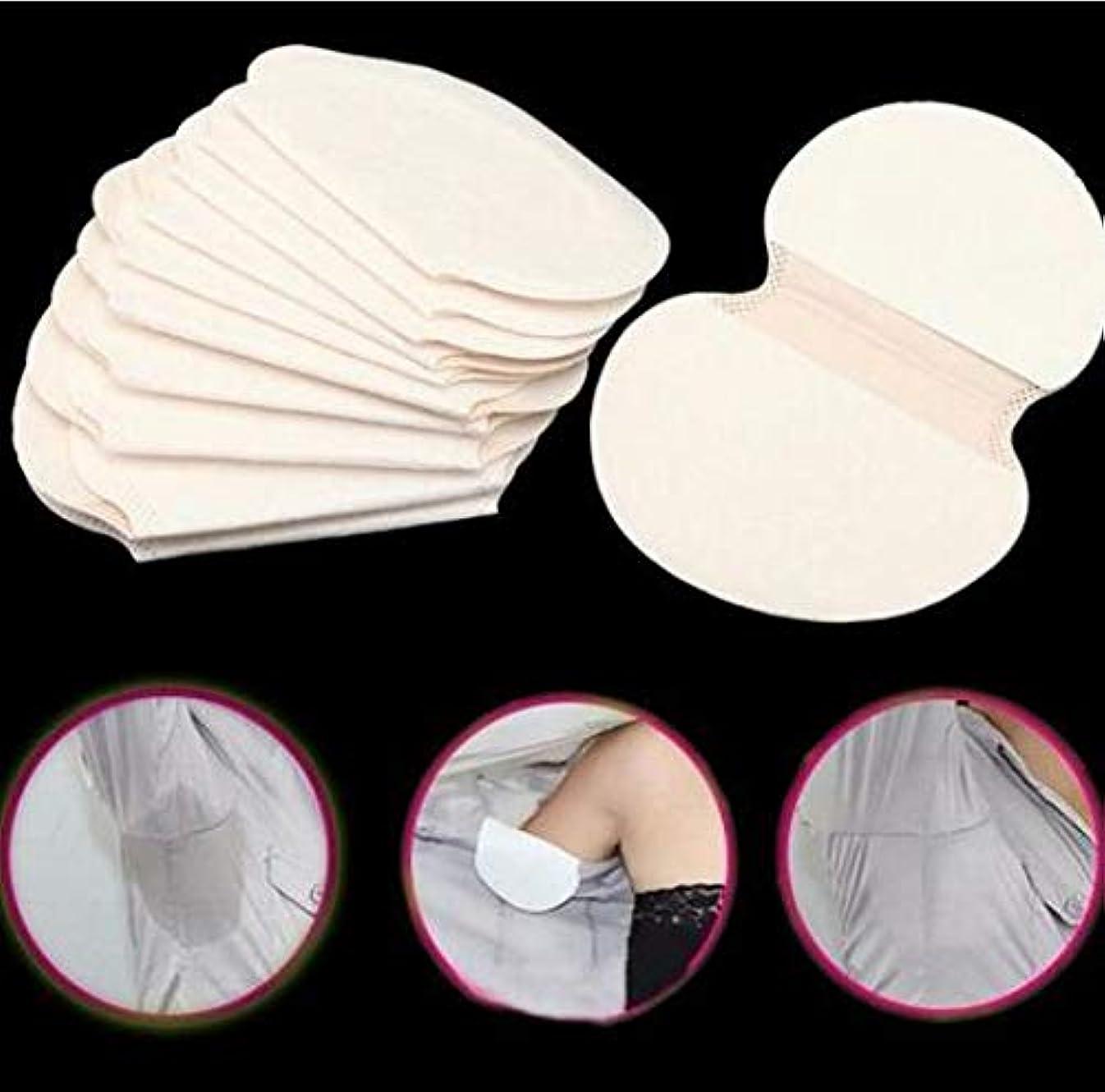 充電波紋スマイル100ピース/ロット使い捨て脇の下脇の下汗パッド抗汗消臭汗吸収パッドドレス服シールドユニセックス