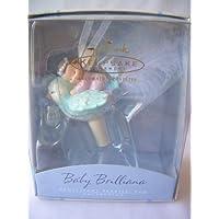 2002 Hallmark Ornament Frostlight Faeries Baby Brilliana by Frostlight Faeries