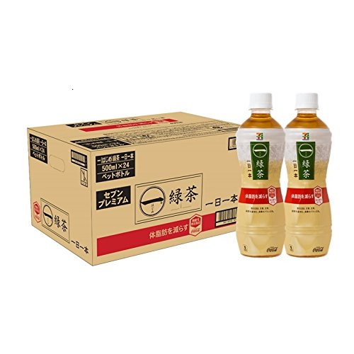 【機能性表示食品】コカ・コーラ 一(はじめ)緑茶一日一本 500ml×24本