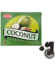 HEM(ヘム)お香 ココナッツ コーン 1箱