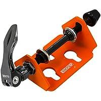 GORIX ゴリックス フォークマウント 自転車固定 SJ-8016 (輪行やスタンドに)オレンジ