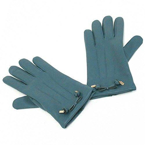 コーチ 手袋 COACHコーチ アウトレット ティー ローズ ボウ レザー グローブ / 手袋 F20887 CEH [並行輸入品] 7.5