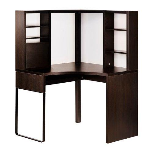 IKEA(イケア) MICKE ブラックブラウン 100x141 cm