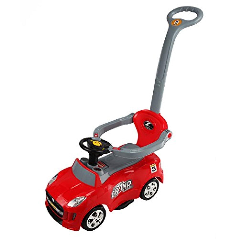 Globe家製品GHP 3 - in - 1 Kids TodlerレッドABS ride-on Push Carベビーカーride-on Car withハンドル