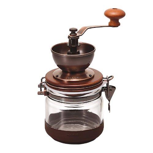 ハリオ キャニスターコーヒーミルCMHC-4C