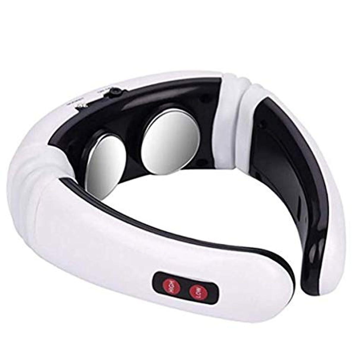 ラリー満員光沢Intercorey Heating Neck Massager Electromagnetic Pulse Neck Physiotherapy Instrument Multi-Function Shoulder Neck