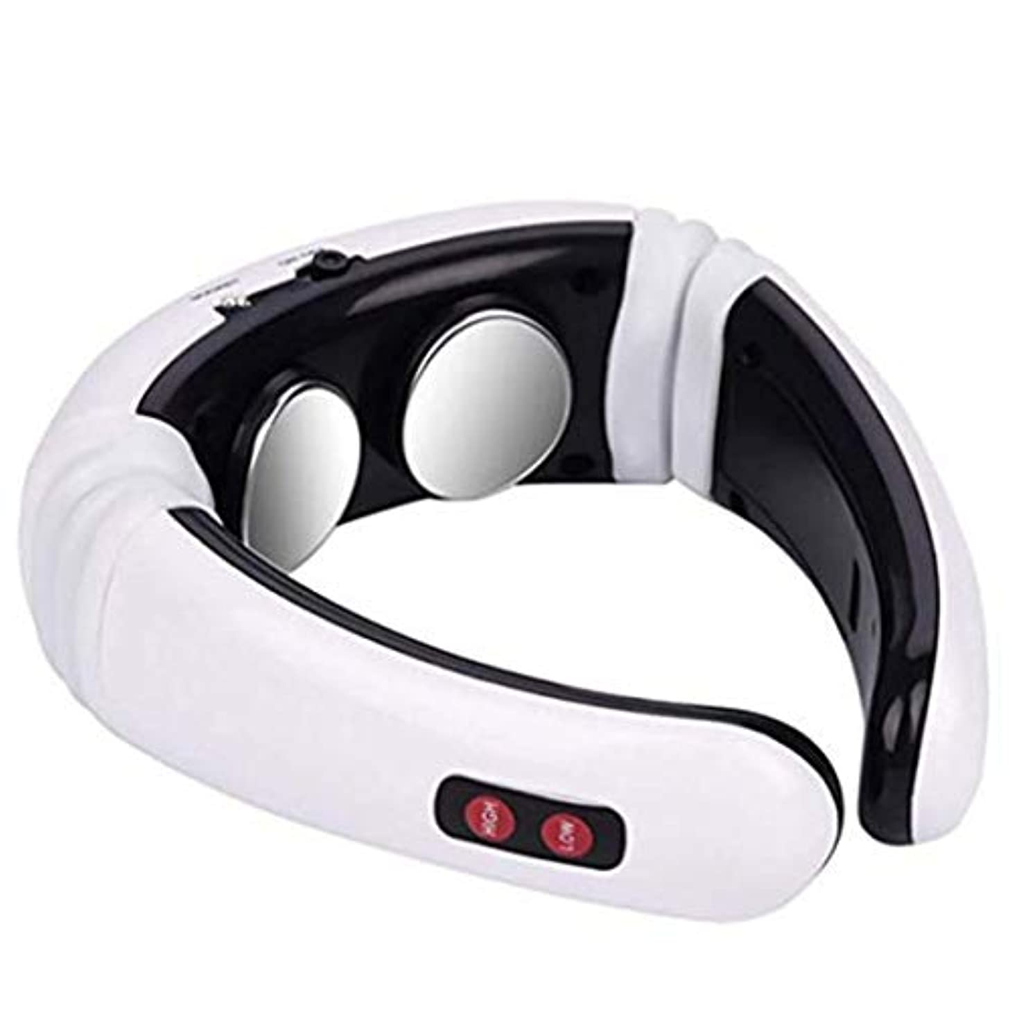 失業者アコード崇拝しますIntercorey Heating Neck Massager Electromagnetic Pulse Neck Physiotherapy Instrument Multi-Function Shoulder Neck