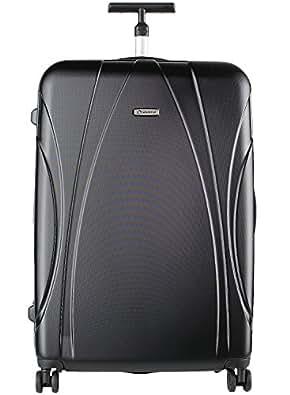 (ディプロマット)Diplomat キャリーケース ファスナー スーツケース TSAロック搭載 軽量PC 修学旅行 ビジネスバック TC-1522 S ブラック