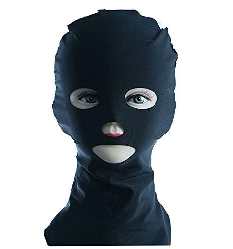 Dmeru 顔キニ facekini 日焼け 防止 マスク フェイスキニ 顔キニ屋外UVサンプロテクションスイムキャッププール Sunの保護のマスク面 ヘッド Sunblock保護マスク