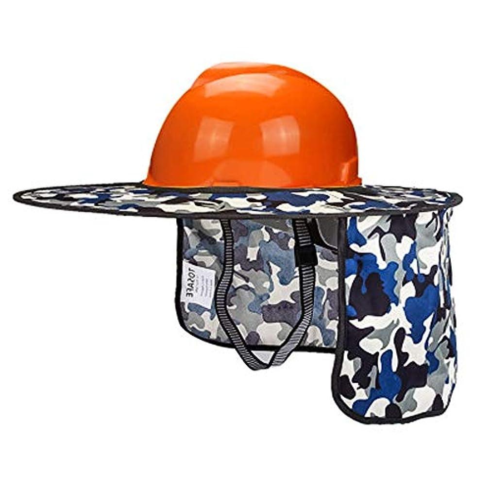 野望従順小数作業用ヘルメット-Hard Hats- サンシェードヘルメット - 紫外線防止換気工事ヘルメット、高温耐性 夏涼しい贈り物 (Color : J)