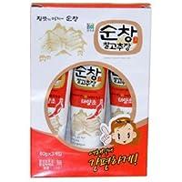 韓国伝統の調味味噌 チューブタイプなので旅行やお弁当などに最適 スンチャン チューブコチュジャン(60g×3)