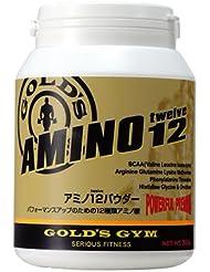 【GOLD`S GYM (ゴールドジム)】 アミノ12パウダー 300g