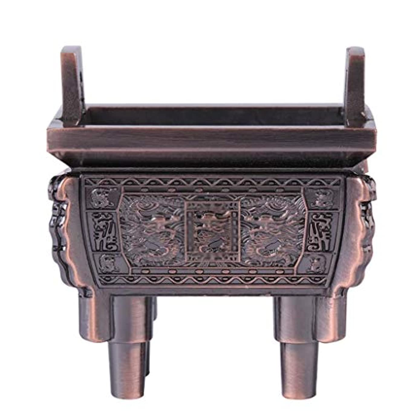 冷笑する禁止するスイングホームアロマバーナー 総本店のホテルの喫茶店の使用のための小型多機能香の棒のバーナーのホールダーのセンサー 芳香器アロマバーナー (Color : Brass)