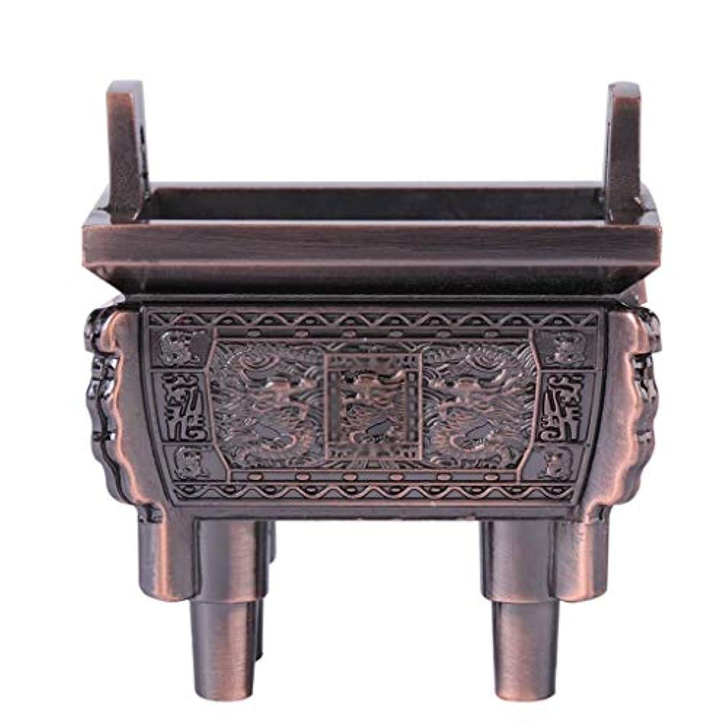 地震ペンフレンド核ホームアロマバーナー 総本店のホテルの喫茶店の使用のための小型多機能香の棒のバーナーのホールダーのセンサー 芳香器アロマバーナー (Color : Brass)