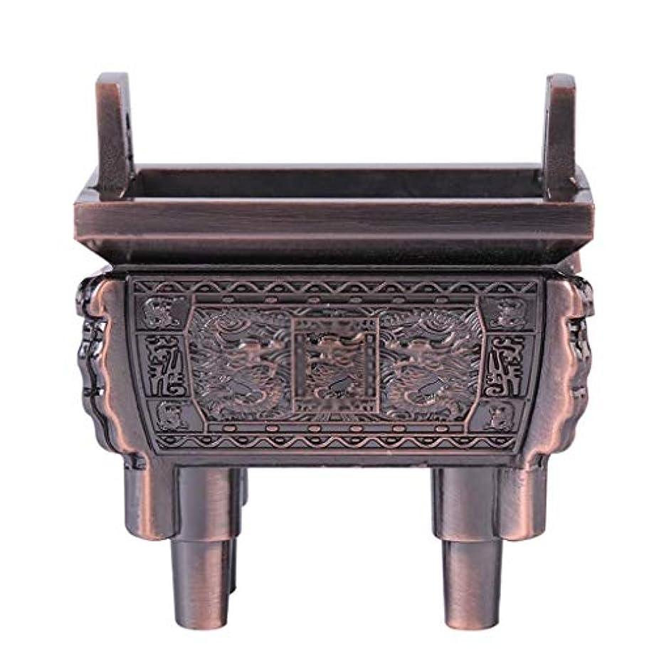 不安ケーキ悲惨なホームアロマバーナー 総本店のホテルの喫茶店の使用のための小型多機能香の棒のバーナーのホールダーのセンサー 芳香器アロマバーナー (Color : Brass)