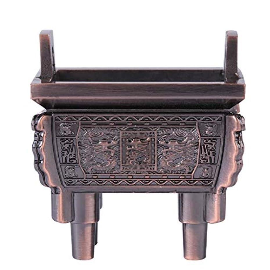 香りプリーツ受付ホームアロマバーナー 総本店のホテルの喫茶店の使用のための小型多機能香の棒のバーナーのホールダーのセンサー 芳香器アロマバーナー (Color : Brass)