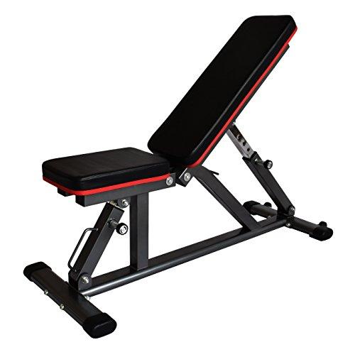 インクラインベンチ フラットベンチ 耐荷重300kg ダンベル ベンチ トレーニングベンチ