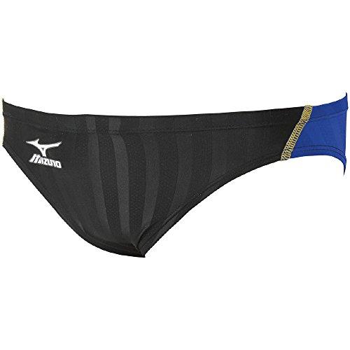 MIZUNO(ミズノ)レース用競泳水着メンズストリームアクセラVパンツFINA承認N2MB652292サイズ:XLブラック×ブルー