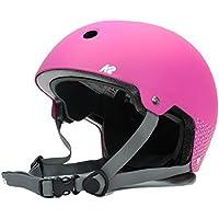 K2(ケーツー) ジュニア ヘルメット 2017 JR VARSITY HELMET  ピンク×ローズ I170400201 ケーツー オールシーズン対応 インライン&スケボー用 キッズ 子供用