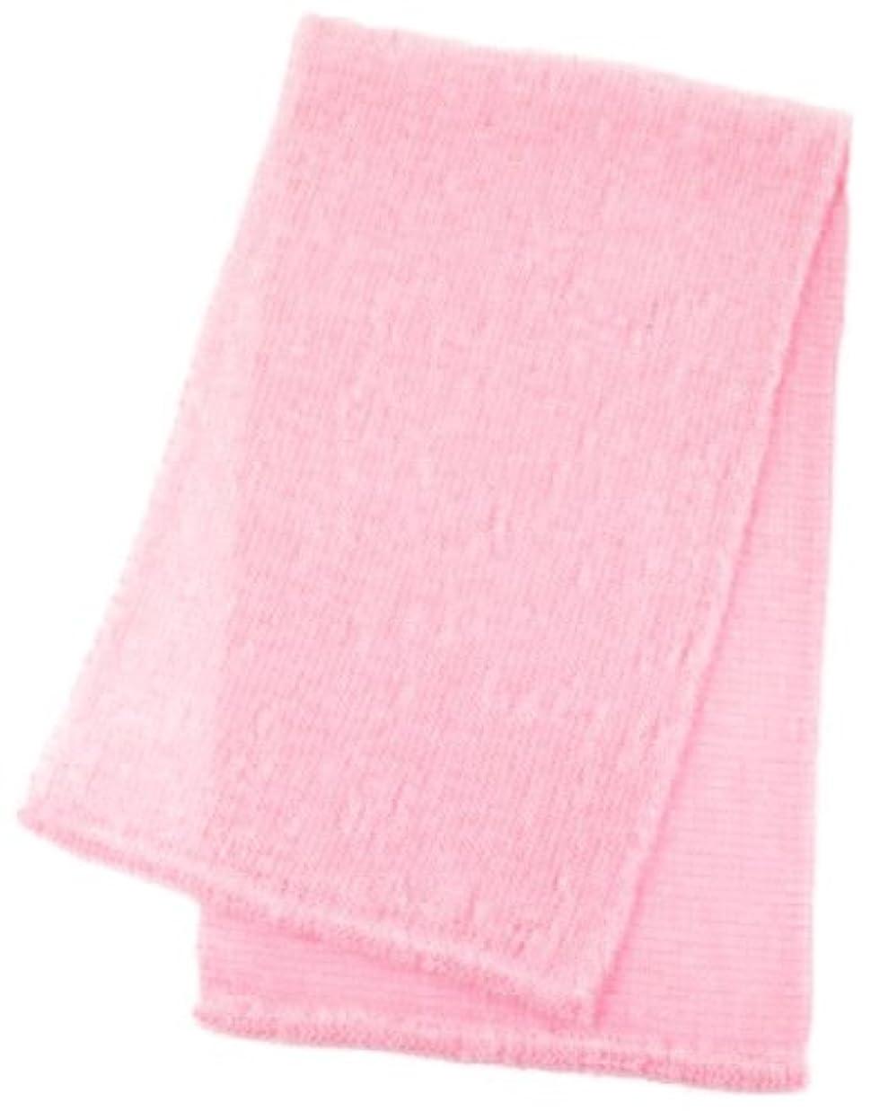 平衡もの寛容マーナ ボディタオル 「泡工場」 ピンク B557P