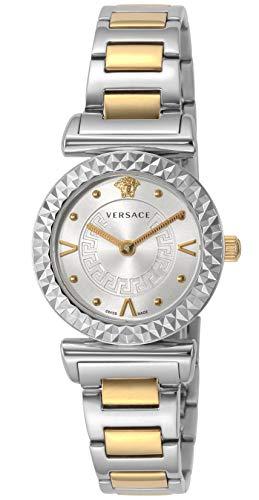 [ヴェルサーチ] 腕時計 MINIVANITY シルバー文字盤 VEAA00418 レディース 並行輸入品 シルバー
