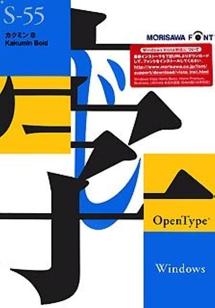 フライカイト平野試してみるOpenType カクミン B for Windows