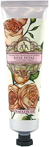 Aromas Artesanales De Antigua Floral Rose Petal Luxury Body Cream 130ml