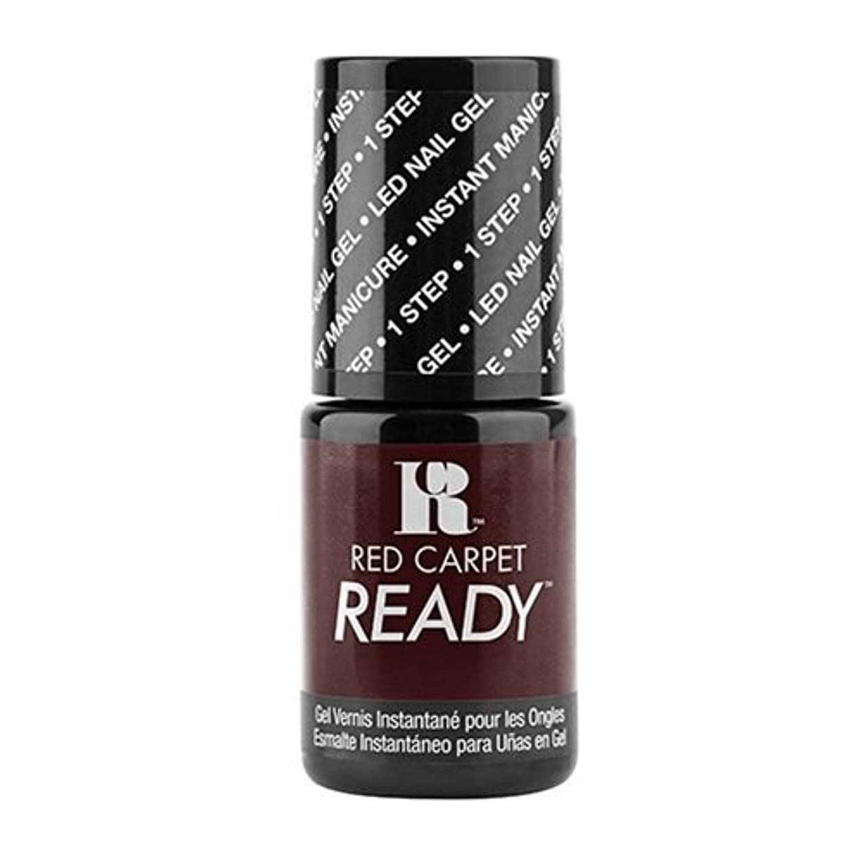 寮違法ギャロップRed Carpet Manicure - One Step LED Gel Polish - On-Set Fling - 0.17oz / 5ml