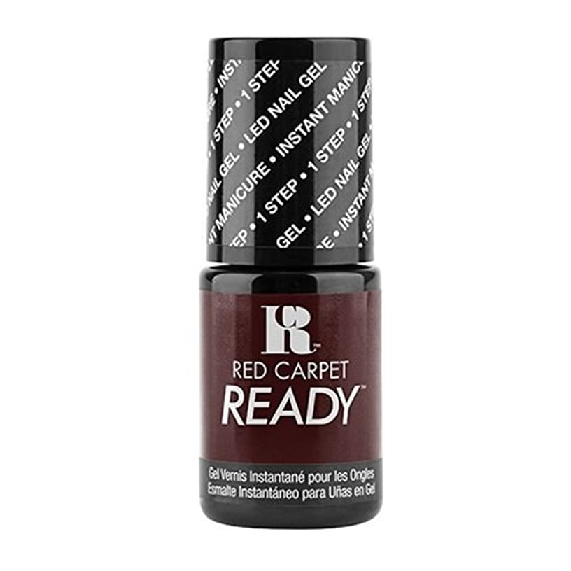 バーチャルばかげたピアRed Carpet Manicure - One Step LED Gel Polish - On-Set Fling - 0.17oz / 5ml