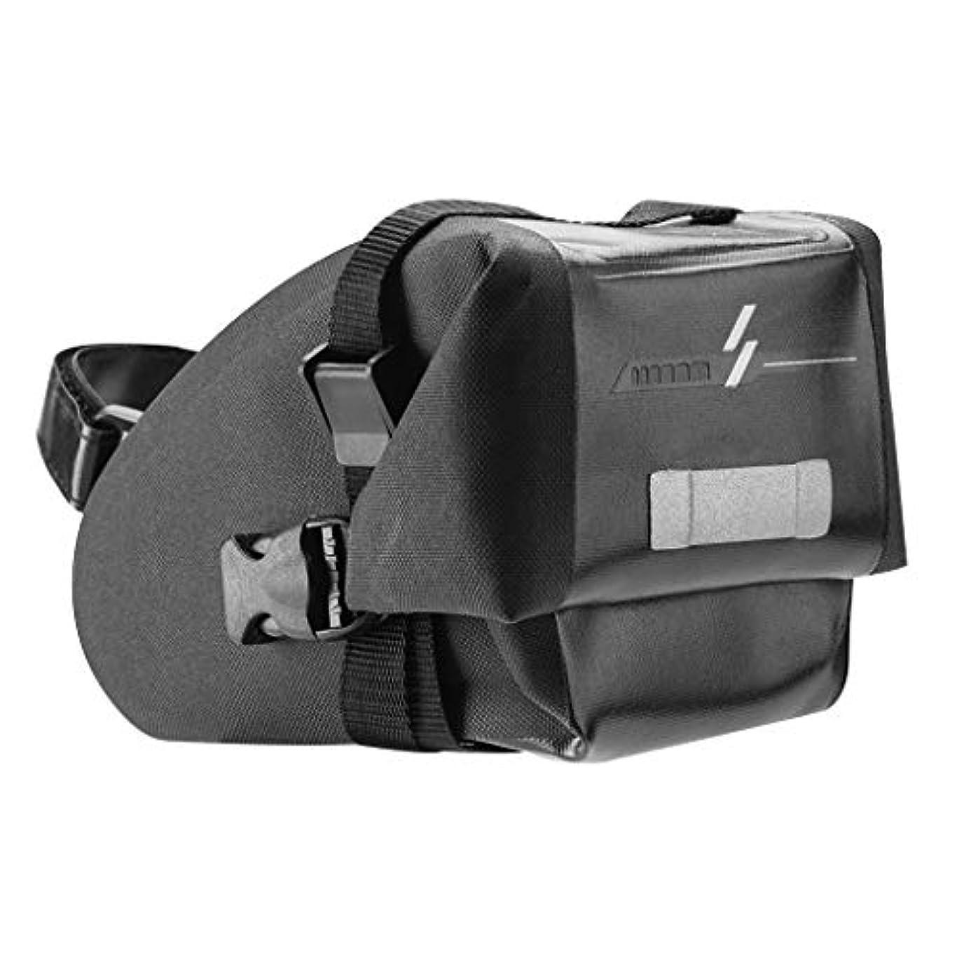 顧問教育表面F Fityle オートバイ 財布エクササイズ用 テールリアシートバッグ バイクサドルバッグ ブラック