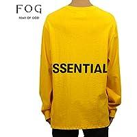 [フィアオブゴッド] FEAR OF GOD 正規品 メンズ クルーネック バックプリント 長袖Tシャツ FOG - FEAR OF GOD ESSENTIALS BOXY GRA T-SHIRT 並行輸入品
