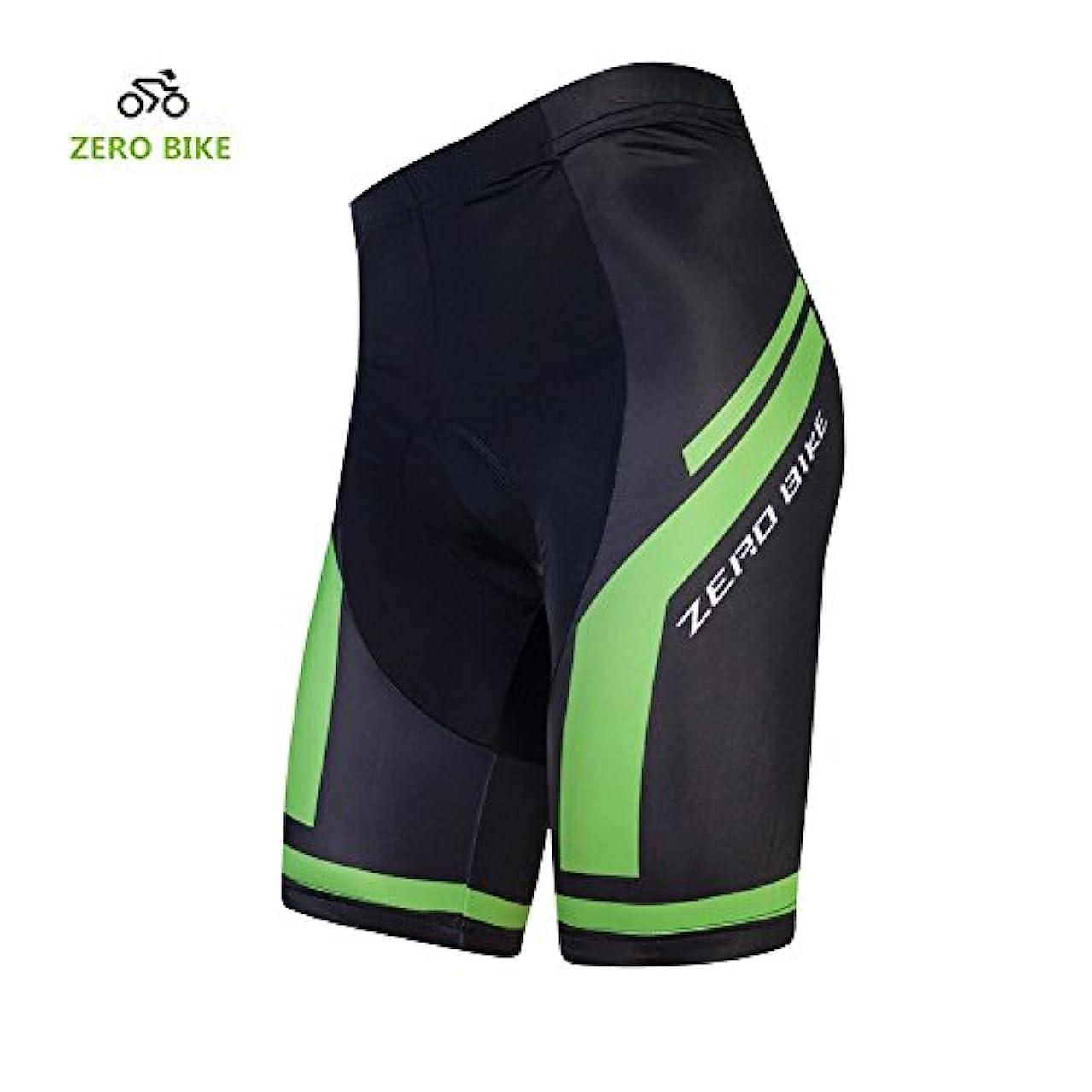 アルファベット順勤勉お願いしますZEROBIKE™ メンズ サイクル インナー パンツ 4D GELパッド メンズ サイクルパンツ 自転車パンツ 吸汗速乾 ショーツ