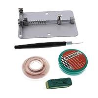 Dolity 修理ツール PCB回路基板 ホルダー スマホ用 ステンレス製 調整可能