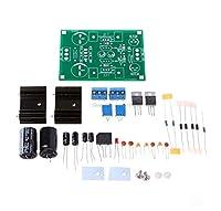 LM317 LM337 AC/DCリニアフィルタ電圧レギュレータ調整可能電源キット
