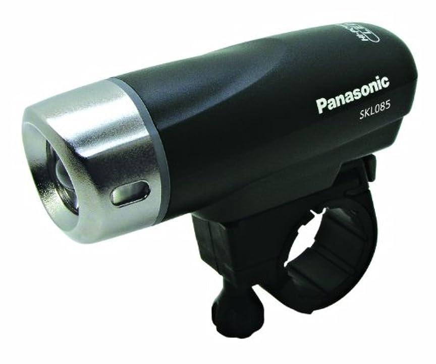 コンパクトリスナー日帰り旅行にPanasonic(パナソニック) ハイパワーLEDスポーツライト 前照灯 ブラック SKL085