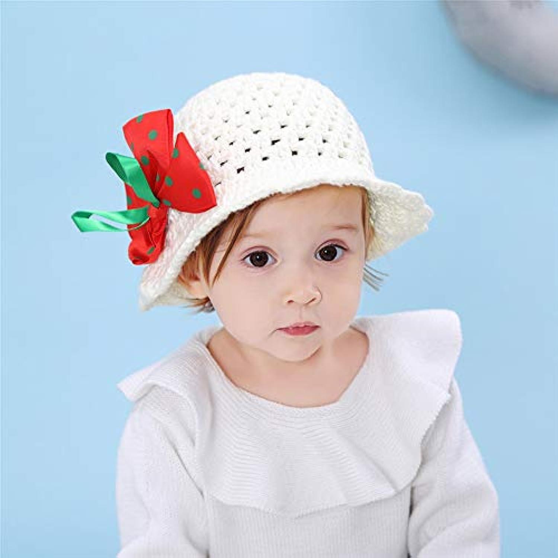 子供 ベビー 赤ちゃん 中空帽子 春 夏 女の子 キャペリン キッズ サンハット UVカット 紫外線対策 日よけ お出かけ用品 出産祝い プレゼント