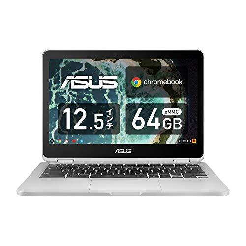 ASUS ノートパソコン Chromebook C302CA 12.5型 タッチ機能あり 日本語キーボード Core m3-6Y30 4GB eMMC 64GB 約10時間駆動 【日本正規代理店品】 C302CA-F6Y30/A シルバー