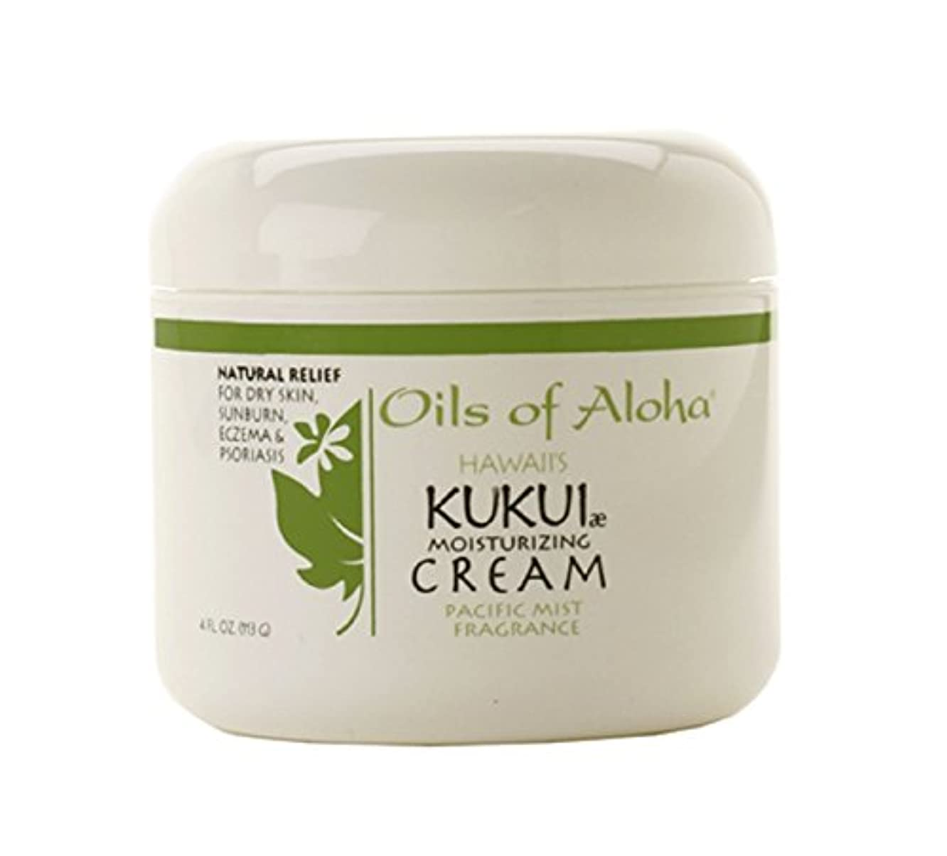 ハック蒸留誤解するKukui Moisturaizing Cream/85g4oz