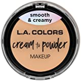 (3 Pack) L.A. COLORS Cream To Powder Foundation - Buff (並行輸入品)