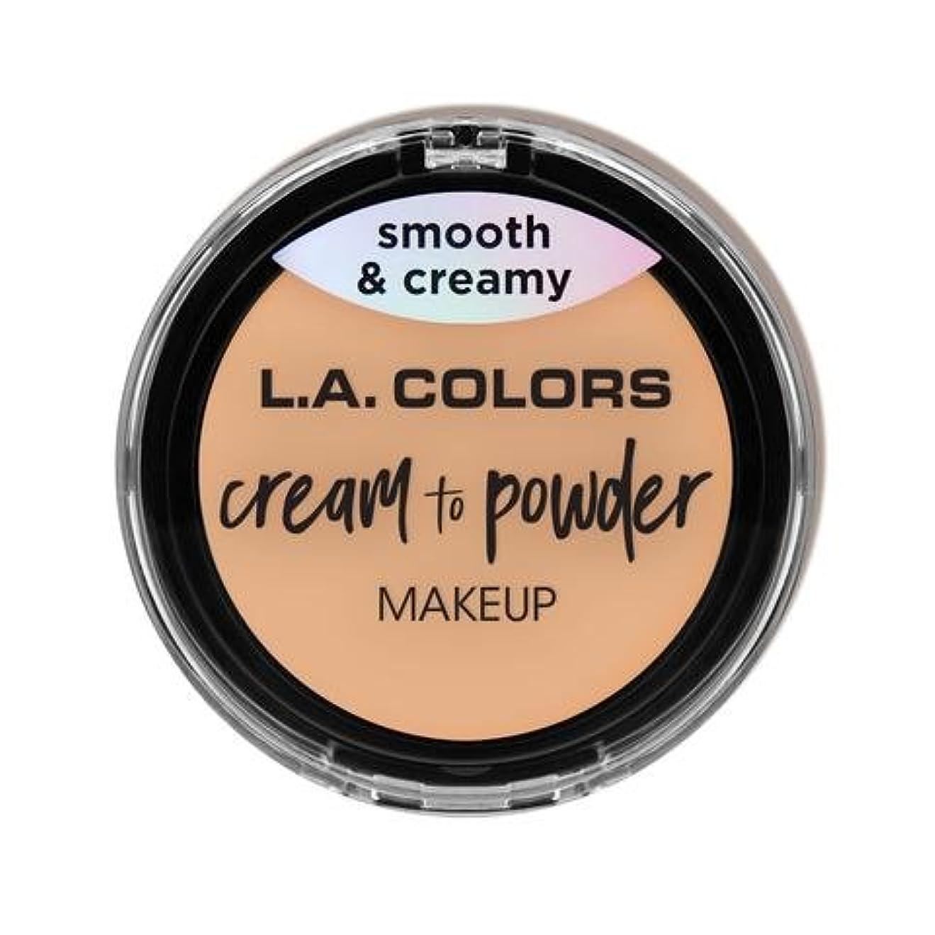 メディック犯すインターネット(3 Pack) L.A. COLORS Cream To Powder Foundation - Buff (並行輸入品)