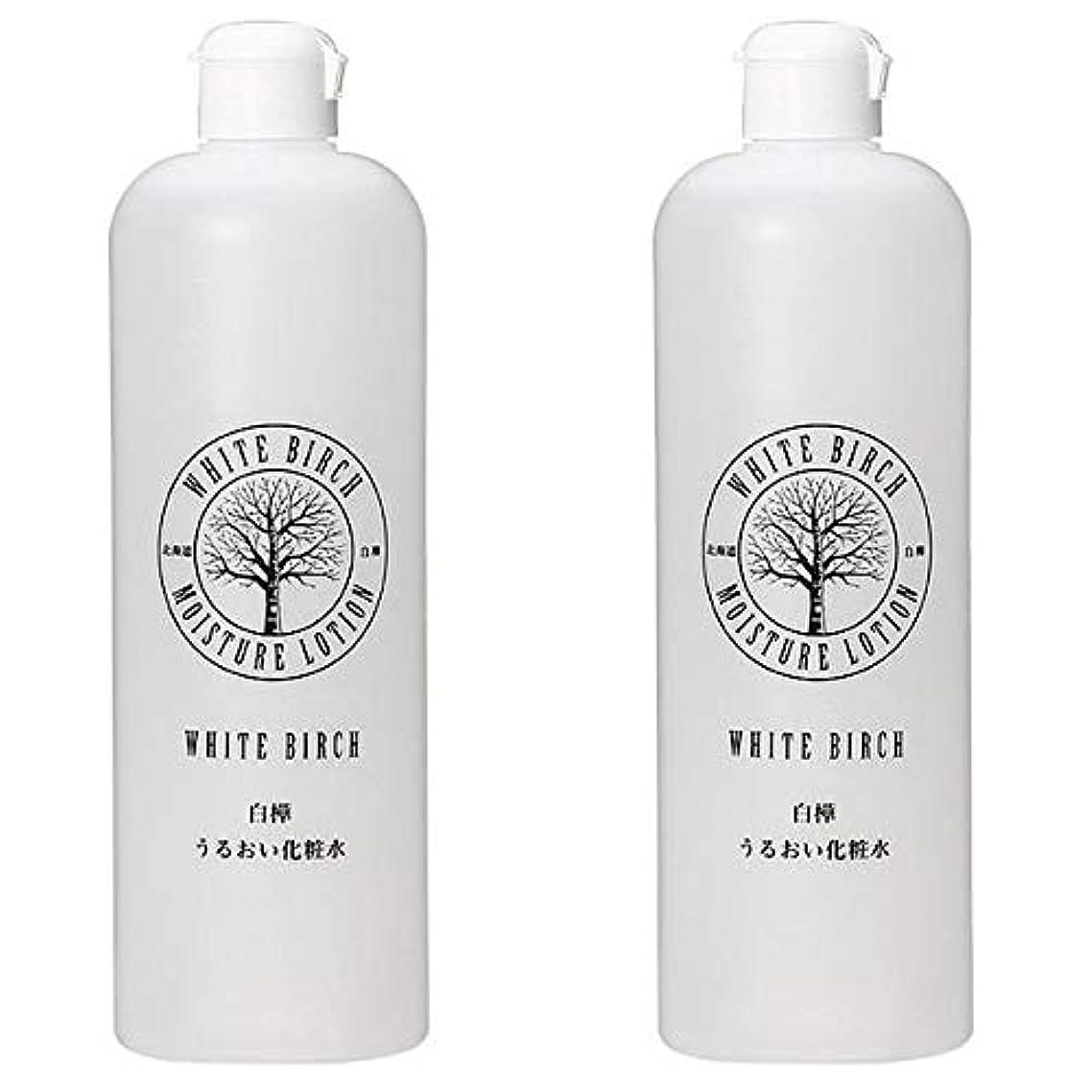 再生可能にんじん発見北海道アンソロポロジー 白樺うるおい化粧水 500mL 【2個セット】
