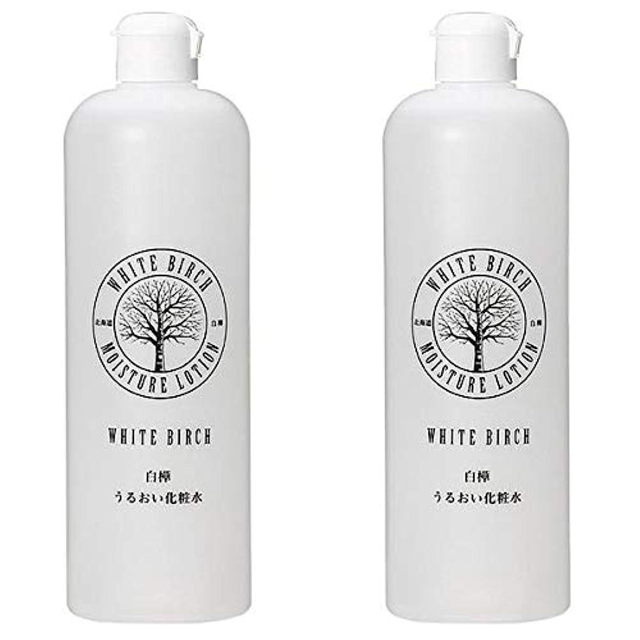 密輸お酢世代北海道アンソロポロジー 白樺うるおい化粧水 500mL 【2個セット】