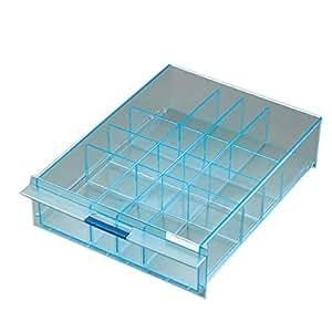 コクヨ レターケース UNIFEEL 仕切板 深型縦仕切 透明 LCD-UNAD2