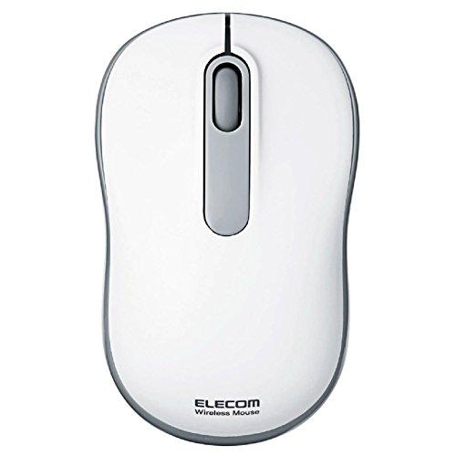 エレコム 無線マウス 光学式 Mサイズ ホワイト M-DY11DRWH