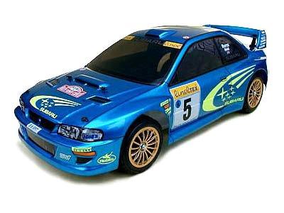 1/8 1/10 エンジンRCカーシリーズ 1/8 インプレッサWRC '99