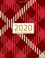 2020 Planner Weekly and Monthly: Jan 1, 2020 to Dec 31, 2020: Weekly & Monthly Planner + Calendar Views   Inspirational Quotes and Gingham Cover (2020 Creative Planners Press)